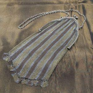 Vintage delicate mesh wristlet